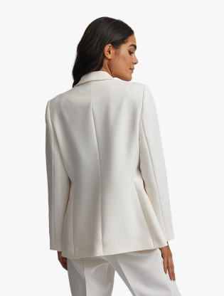 Ivory Double Breasted Jacket1