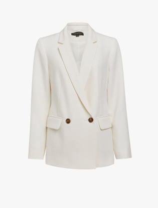 Ivory Double Breasted Jacket3