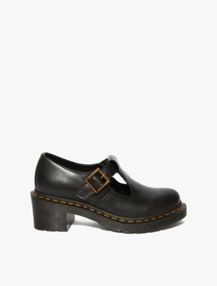 Sophia Women's Leather Heeled Mary Jane Shoes0