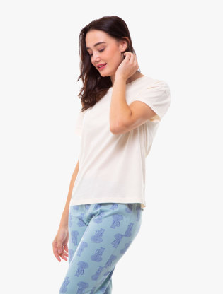 Pure Cotton Short Sleeve Pyjama Set0