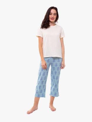 Pure Cotton Short Sleeve Pyjama Set1