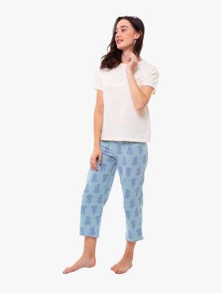 Pure Cotton Short Sleeve Pyjama Set2