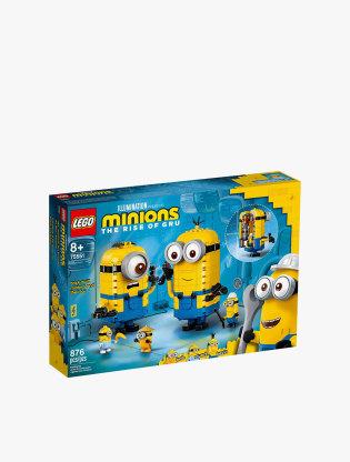 LEGO Minions Brick-built Minions and their Lair - 755510