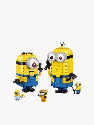 LEGO Minions Brick-built Minions and their Lair - 755512