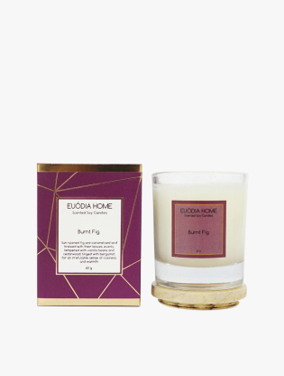 Burnt Fig Travel Soy Scented Candle 60g (FIG)3
