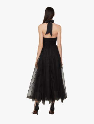 Tulle Tie-Neck Dress1