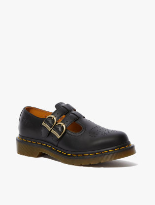 8065 Mary Jane Smooth Leather Shoes1