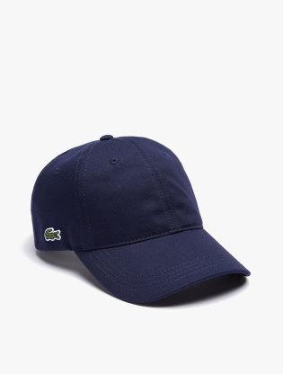 Men's Contrast Strap Cotton Cap0