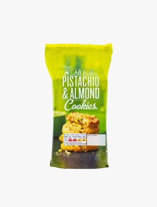 All Butter Pistachio Almond Cookies0