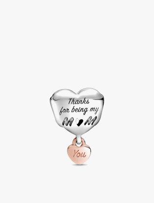 Love You Mom Heart Charm2
