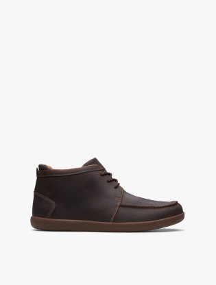 Clarks Un Lisbon Up Men Boots - Brown0