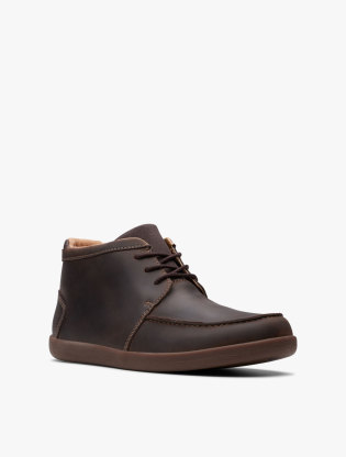 Clarks Un Lisbon Up Men Boots - Brown1