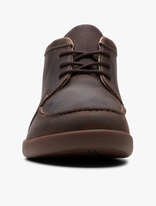 Clarks Un Lisbon Up Men Boots - Brown2
