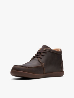 Clarks Un Lisbon Up Men Boots - Brown3