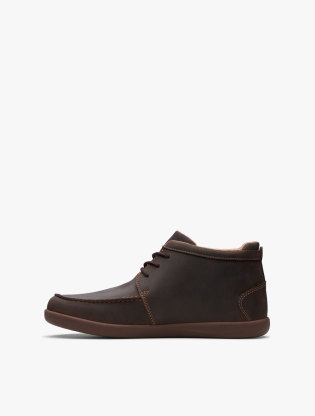 Clarks Un Lisbon Up Men Boots - Brown4