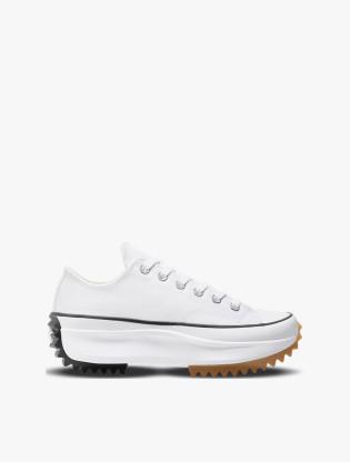 Converse RUN STAR HIKE Unisex Sneakers Shoes - WHITE/BLACK/GUM0