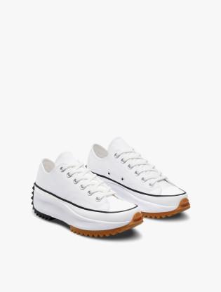 Converse RUN STAR HIKE Unisex Sneakers Shoes - WHITE/BLACK/GUM1