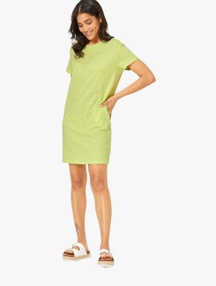 Pure Cotton Mini T-Shirt Dress0