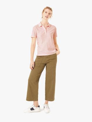 Pure Cotton Polo Shirt0