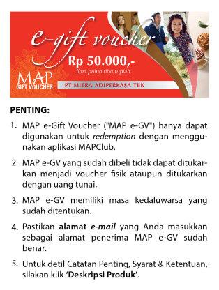 MAP  Gift Voucher 50K0