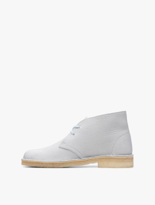 Desert Boot. Light Blue Leather1