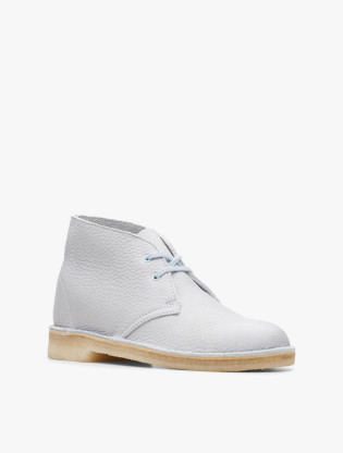 Desert Boot. Light Blue Leather2
