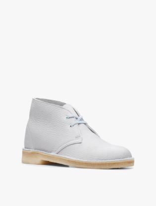 Desert Boot. Light Blue Leather2