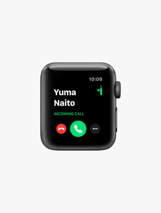 Apple Watch Series 3 GPS 42MM Space Gray Aluminum Sport Band2
