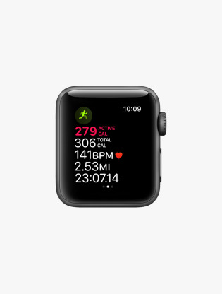 Apple Watch Series 3 GPS 42MM Space Gray Aluminum Sport Band3