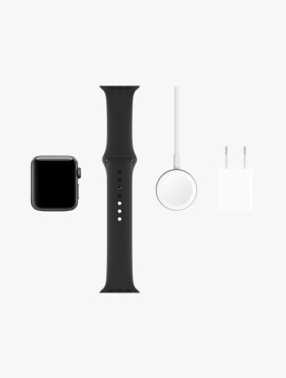 Apple Watch Series 3 GPS 42MM Space Gray Aluminum Sport Band4