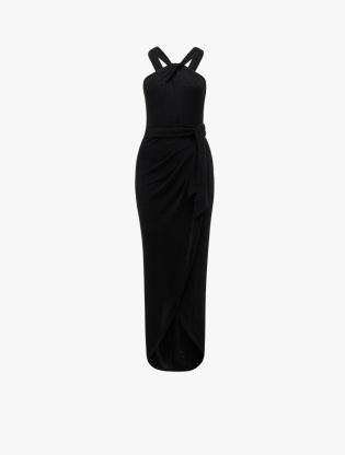 Jasmine Glitter Twist Dress0